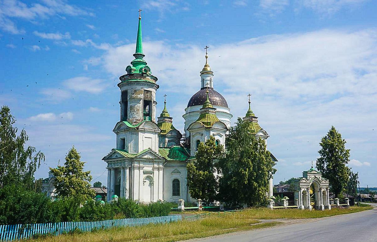 храм Николая Чудотворца в быньгах